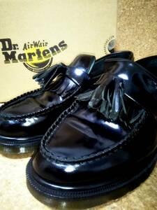【Dr.MARTENS】ドクターマーチン ADRIAN エイドリアン タッセルローファー UK7 (26cm ) ブラック【箱付き良品】