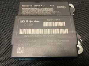 FIAT Fiat 500 52040843 air bag computer ECU repair does. with guarantee. air bag AB14111