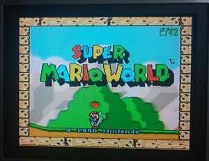 SFC スーパーファミコンカセット スーパーマリオワールド 箱説明書付き 動作確認済