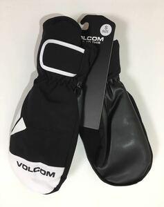 VOLCOM ボルコム J68521JBBLK メンズ Mサイズ スノーボード ミトングローブ ブラック色 スノボ ウエア ヴォルコム Snow 新品 即決 送料無料