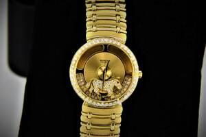 SARCAR サーカー マジックムーン K18YG×ベゼルダイヤ 腕時計 メンズ Q81004 1394