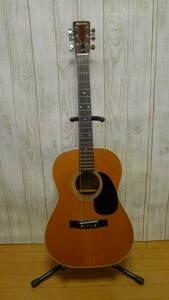 jj101● Morris モーリス FG-15 アコースティックギター 弦楽器 ギタースタンド付き 動作確認OK/180