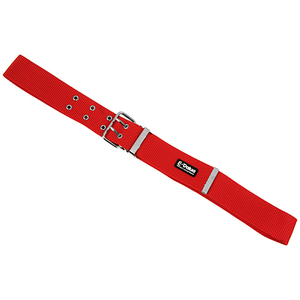 藤原産業 E-Value ツーピンバックルベルト Red ツールケース 取付 釘袋 腰袋 工具差し ホルスター ツールポーチ 等 作業 ベルト