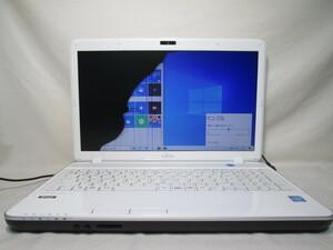 富士通 LIFEBOOK AH30/L Celeron B830 1.8GHz 4GB メモリ 500GB HDD 15.6インチ DVDマルチ 最新Win10 64bit Office Wi-Fi HDMI [77837]