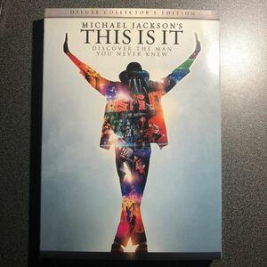 マイケル・ジャクソン THIS IS IT (2枚組)DVD