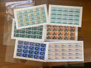 記念切手シート6種
