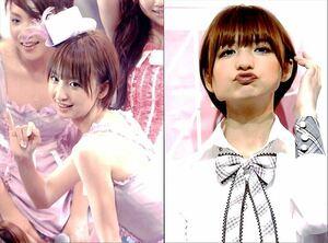 希少写真L版 AKB48 篠田麻里子 ステージ 生写真4枚 篠田麻里子 【AE111417】