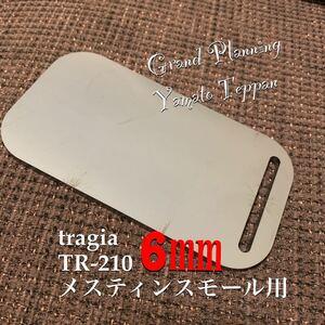 メスティン スモール 収納 6ミリ 鉄板 大和鉄板 アウトドア トランギア ミリキャンプ ニトリ 等に収納可能 鉄板のみ