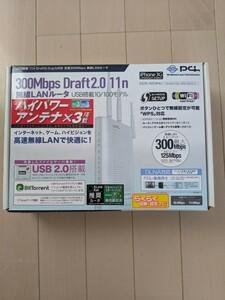 300Mbps Draft2.O 11n無線LANルータ 無線LANルーター