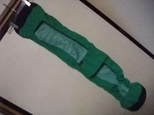 美品! oran'ge 【ニット・スノーボード・カバー・フリースタイル】 green 135㎝~150㎝ レア物 廃盤デザイン オレンジ