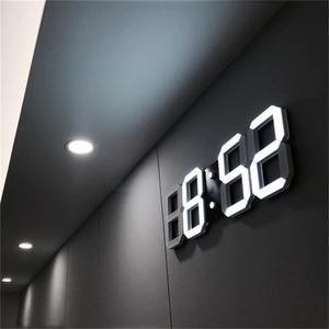 送料無料!!インテリア 壁掛け時計 デジタル ウォールクロック LED Digital Numbers Wall Clock インテリア オフィス クラシック