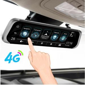 送料無料!ANSTAR 4G SIM挿入可能 Android搭載バックミラー型ドライブレコーダー WIFI接続可能 GPS搭載ナビゲーション可能