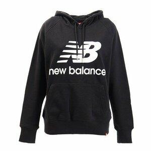 ★激安特価★new balanceニューバランス レディス スェットパーカー 黒 Sサイズ AWT91523