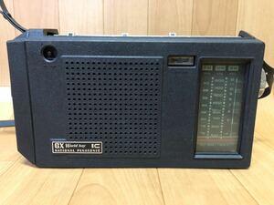 長野発!希少、美品!ナショナル パナソニック RF-858D GX ワールドボーイ FM-中波-短波 3バンドポータブルラジオ 現状ジャンク品