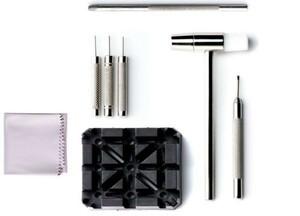腕時計バンド調整 バンド調整工具 8点セット 時計 ベルト サイズ調整 プロ用時計工具 交換 修理 工具 A707am
