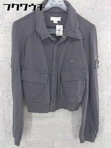 ◇ DIESEL ディーゼル 長袖 ジャケット シャツ サイズXS グレー レディース 1002801975531