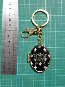 正規品 現状 マイケルジャクソン ミラー キーホルダー Michael Jackson mirror key chain ring KING OF POP LONDON