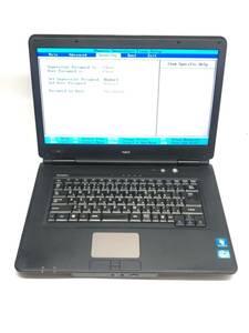 ジャンク品 NEC VersaPro VX-C Core i3-2310M 2.1GHz/メモリ4GB/HDD250GB/DVDマルチ/15インチ(5)