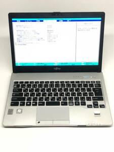 ジャンク品 富士通LIFEBOOK S935/K Core i5-5300U@2.3GHz メモリ2GB/SSD128GB/DVDマルチ/カメラ/13.3インチFHD (1920×1080)(8)