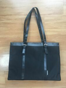 【美品】リクルートバッグ 就活バッグ 就職活動 自立式ビジネスバッグ 黒バッグ OL お仕事 パート アルバイト 面接 オフィス
