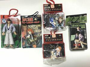 未開封 ルパン三世 キーホルダー フィギュア ツイン マスコット バンプレスト アニメ キャラクター 小物 コレクション 雑貨 いろいろ