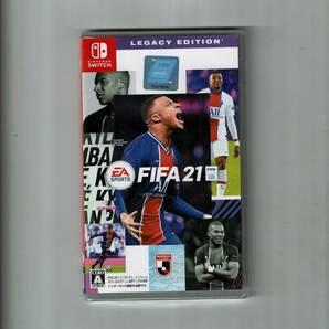 新品未開封 スイッチ switch FIFA 21 LEGACY EDITION FIFA21 レガシーエディション レガシー・エディション フィファ