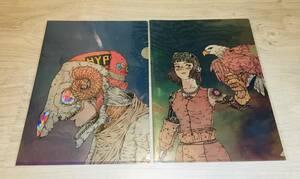 即決 米津玄師 STRAY SHEEP ストレイシープ CD 特典 クリアファイル 2枚セット タワレコ 楽天ブックス 送料無料