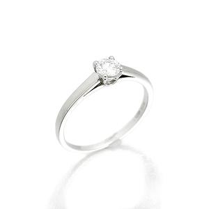 ブルガリ BVLGARI グリフ ソリテールリング プラチナ ダイヤモンド リング 13号 Pt950