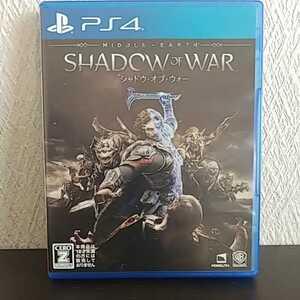 PS4 シャドウ・オブ・ウォー