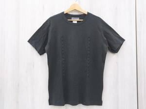 YOHJI YAMAMOTO ヨウジヤマモト POUR HOMME プールオム HX-T30-070 Tシャツ Mサイズ チャコールグレー