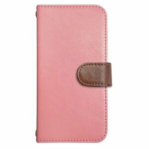 Galaxy A21 SC-42A SCV49 PUレザー 手帳型 ケース ピンク 丸型 かわいい おしゃれ