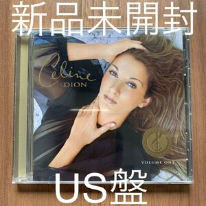 Celine Dion セリーヌ・ディオン the special best Collector's Series Vol.1 新品未開封 US盤