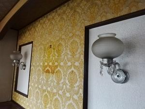 最終の値下げ 日本製 昭和 高級 アンティーク 壁掛け照明 レトロ モダン 切子 クリスタル シャンデリア 照明 値引き交渉 (可)