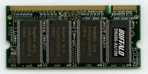 BUFFALO DN266-A512M PC2700 200Pin SO-DIMM prompt decision affinity guarantee used