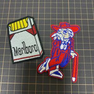 アイロンワッペン タバコ