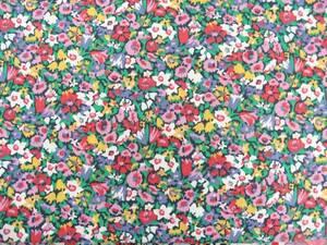 リバティ アリスビクトリア柄 廃盤カラー 花柄プリント タナローン生地 花柄 ハンドメイド 綿100%
