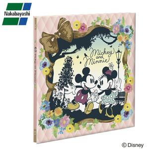 ナカバヤシ フエルアルバム ディズニー 100年台紙 Lサイズ ミッキー&ミニー アH-LD-107-1(a-1130313)