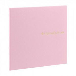 ナカバヤシ 寄せ書き&写真台紙スクエア L判 ピンク YMD-L-102-P(a-1594609)