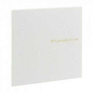 ナカバヤシ 寄せ書き&写真台紙スクエア L判 ホワイト YMD-L-102-W(a-1594610)