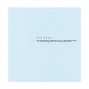 ナカバヤシ デジタルフリーアルバム10R フォトライブ ブルー LPF-1002-B(a-1594360)