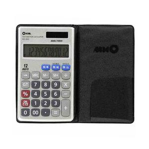 オーム電機 OHM 12桁手帳サイズ電卓 KCL-002(a-1136465)