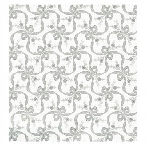 パックタケヤマ 包装紙 シルバーリボン 四六全判 100枚組 XZK00031(a-1477873)