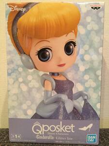 Q posket Disney Characters Cinderella Glitter Line ディズニー Qposket シンデレラ フィギュア プライズ 新品 未開封 同梱可