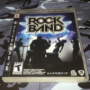 ROCKBAND 北米版 PS3 動作確認済み 送料無料 匿名配送 PlayStation3 プレイステーション3 プレステ3 輸入版 海外版 ROCK BAND
