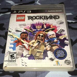 LEGO ROCKBAND 北米版 PS3 動作確認済み 送料無料 匿名配送 PlayStation3 プレイステーション3 プレステ3 輸入版 海外版 ROCK BAND レゴ