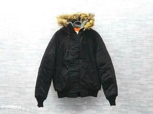 SPIEWAK/N-5A/スピワック/Golden Fleece/ゴールデンフリース/フライトジャケット/アメリカ製/ファー/DSA-100-1271-A73/サイズ40/L/ブラック