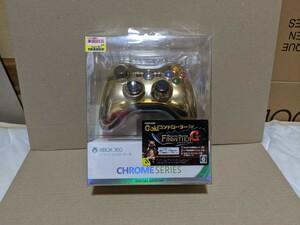Xbox360 ワイヤレスコントローラー SE (クローム ゴールド)