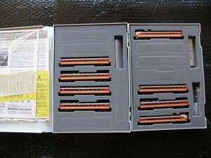トミックス TOMIX 183(189)系特急電車(房総特急・グレードアップ車)基本+増結 8両セット【鉄道模型】新品同様品
