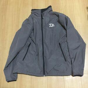 【良品】ダイワ ウォームアップスーツ DI-5207(グレー)L