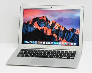 良品 MacBook AIR Mid 2012 A1466 13.3インチ Core i5-3427U 1.8GHz/メモリ4GB/SSD 256GB/無線/カメラ/MAC OS Sierra済